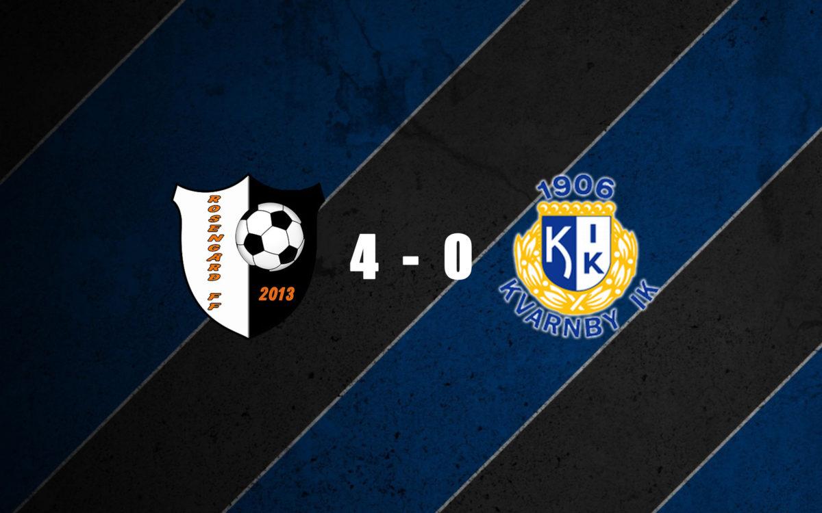 Rosengård FF tar vinsten från Kvarnby